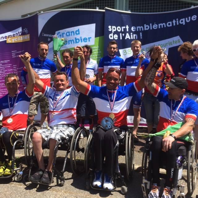 Championnat de France Paracyclisme 2014